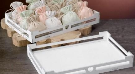Scatole cartoncino e vassoi