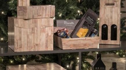 Vassoi, scatole e buste natalizie